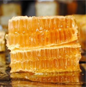 泰山纯野生蜂巢蜜批发土蜂蜜蜂窝蜜500g